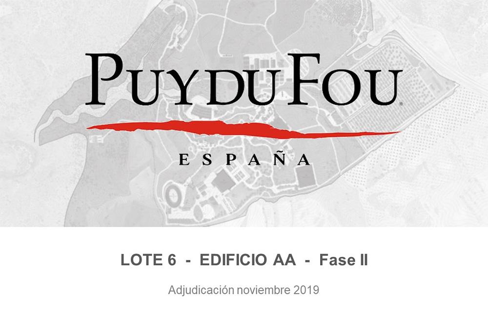 Parque Puy Du Fou España – Edificio AA